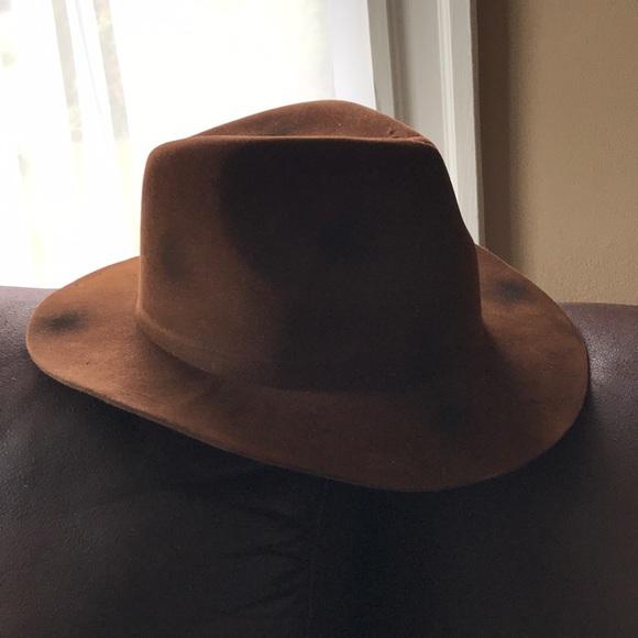 Adult Size Brown Freddy Krueger Fedora Hat